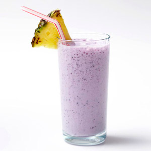 Blueberry Pineapple Protein Shake
